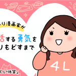 【婚活ブログ】【婚活漫画】ぽっちゃり漫画家が婚活する勇気をとりもどすまで・第17話「やせにくい体質」