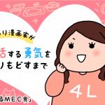 【婚活ブログ】【婚活漫画】ぽっちゃり漫画家が婚活する勇気をとりもどすまで・第22話「気になるMEC食」