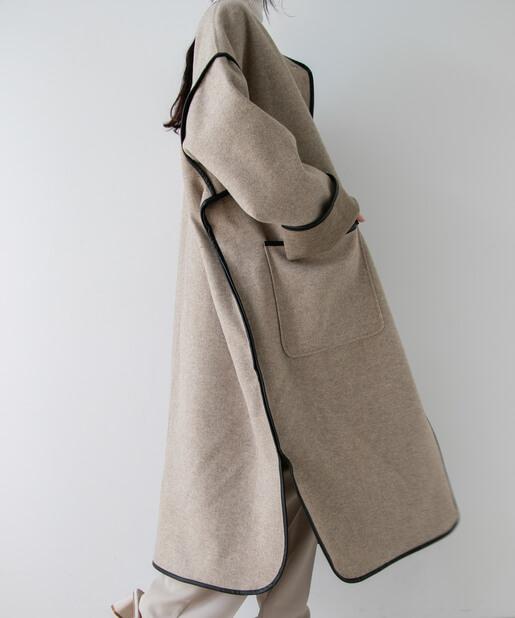 【秋冬トレンド】パイピングコートを使ったモテコーデ3つ